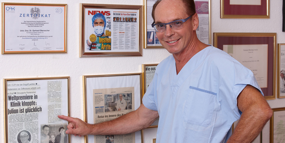 Univ. Doz. Dr. Gerhard Oberascher